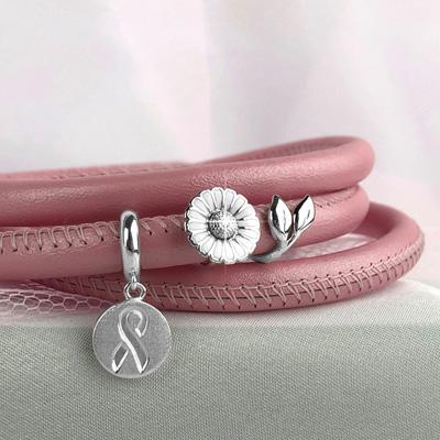 В поддержку борьбы с раком груди